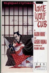 LONE WOLF & CUB #6, NM+, Frank Miller, Kazuo Koike, Kojima, more in store