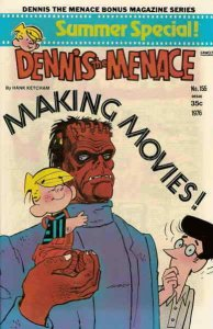 Dennis the Menace Bonus Magazine Series #155 VG; Fawcett | low grade comic - sav