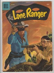 Lone Ranger, The #90 (Dec-55) VG Affordable-Grade The Lone Ranger, Tonto, Silver