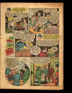 Lot Of 2 Coverless Boy Comics By Lev Gleason Crimebuster Little Dynamite NE1