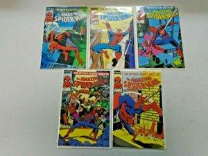 Amazing Spider-Man Set #1-9 6.0 FN (1985)