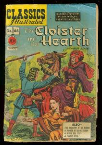 CLASSICS ILLUSTRATED #66 HRN 67-CLOISTER & THE HEARTH G-
