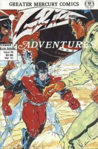 Grips Adventures #8 VF/NM; Greater Mercury | save on shipping - details inside