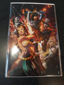 The Cimmerian: Queen of the Black Coast #1 Chris Ehnot ECCC Virgin Variant