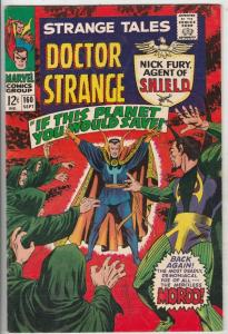 Strange Tales #160 (Sep-67) VF/NM High-Grade Nick Fury, Dr. Strange
