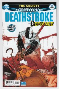 DEATHSTROKE (2016 DC) #25 NM- A53648