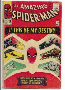 The Amazing Spider-Man #31 (1965)