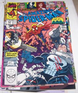 Amazing Spider-Man # 331 1990 MARVEL punisher + venom+ black cat+ erik larsen