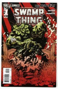 Swamp Thing #1 2011 New 52 DC Second printing comic book
