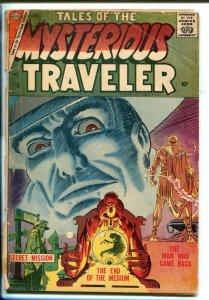 TALES OF THE MYSTERIOUS TRAVELER #3 1957-CHARLTON-STEVE DITKO-good minus