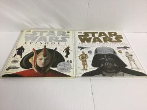 Star Wars Visual Dictinary 2 Book Lot Vf Very Fine DK