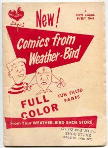 MD Comics #3 1955- EC Comics- Weather-Bird Shoe Store Promo