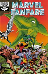 Marvel Fanfare #3 VF/NM; Marvel | save on shipping - details inside
