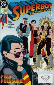 Superboy (2nd Series) #5 VF; DC | save on shipping - details inside