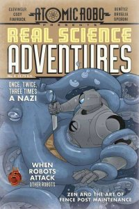Atomic Robo Presents Real Science Adventures #4, NM + (Stock photo)