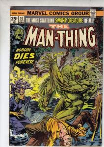 Man-Thing #10 (Nov-74) VF/NM High-Grade Man-Thing