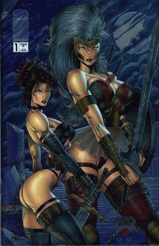 LIEFELD WOMEN  10-Different, AVENGELYNE GLORY RE-GEX,