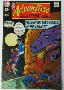 ADVENTURE COMICS #380 (DC,5/1969)VG (Very Good)Jim Shooter,Legion of Superheroes