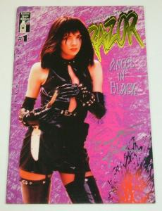 Razor #1 2nd printing FN; signed by Everette Hartsoe - london night bad girl