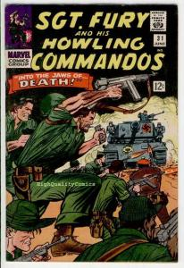SGT FURY #31, War, WWII, Germans, Dick Ayers,1963, VF