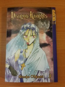 Dragon Knights Manga Vol. 3 First Print ~ NEAR MINT NM ~ 2002 Tokyopop