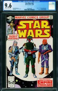 STAR WARS #42 CGC 9.6 1980-BOBA FETT-2006596008