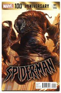 100th Anniversary Special: Spider-Man #1 2014 Varaint-Venom cover NM-
