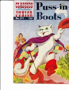 Classics Illustrated Junior #511 Puss n Boots