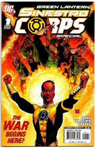 GREEN LANTERN SINESTRO CORPS SPECIAL #1 (2007) 9.0 VF/NM  Rise of the Evil Army!