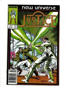 Lot of 12 Justice Marvel Comic Books #4 5 6 10 11 13 14 15 16 17 18 19 J411