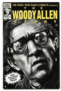 He Said/She Said #2 1992 WOODY ALLEN/MIA FARROW comic book