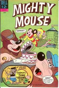 MIGHTY MOUSE (1964-1968 GK/DELL) 167 VF   June 1966 COMICS BOOK