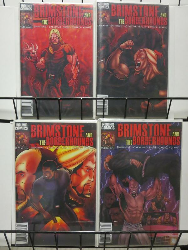 BRIMSTONE AND THE BORDERHOUNDS (2010 HC) 1-4  COMPLETE!
