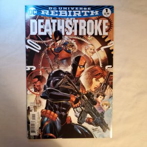 Deathstroke 1 Very Fine/Near MInt Cover by Carlo Pagulayan