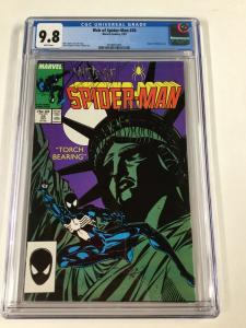 Web Of Spider-man 28 Cgc 9.8 White Pages Marvel