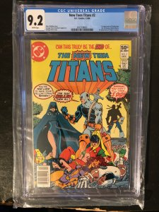 The New Teen Titans #2 CGC 9.2 - 1st Appearance of Deathstroke