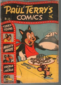Paul Terry's Comics #112 1954-St. John-Mighty Mouse-Heckle & Jeckle-G/VG