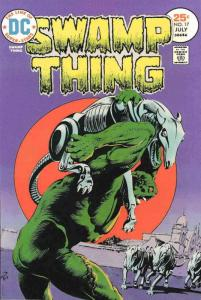 Swamp Thing (1st Series) #17 FN; DC | save on shipping - details inside