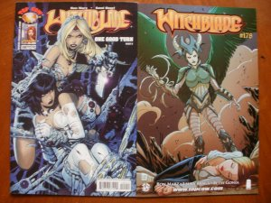 2 Near-Mint Image Top Cow Comic WITCHBLADE #109 #178 Marz Basri (One Good Turn)