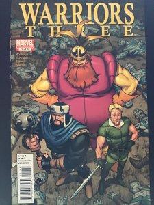 Warriors Three #1 (2011)