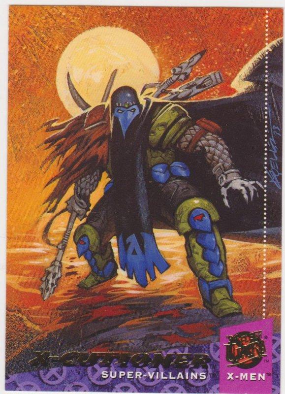 1995 Fleer Ultra X-Men Card #69 X-Cutioner