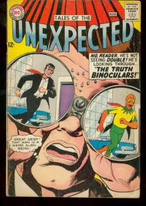 TALES OF THE UNEXPECTED #87 1965 DC GREEN GLOB ISSUE VG