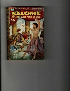 3 Books Salome My First 2000 Years of Love Alphabet Hicks Danger at Sea JK35