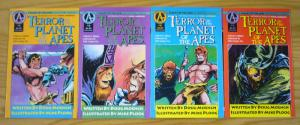 Terror on the Planet of the Apes #1-4 VF/NM complete series - moench - ploog set