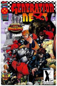 Generation Next #1 2nd Printing Variant (Marvel, 1995) VF