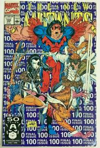 NEW MUTANTS#100 VF/NM 1991 'FIRST X-FORCE' MARVEL  COMICS