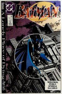 BATMAN #440 NM Near Mint  A LONELY PLACE OF DYING PART 1 1989 1st PRINT DC Comic
