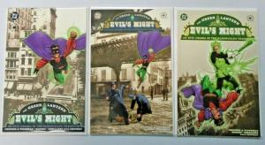 Green Lantern Evil's Might set #1 to #3 all 3 different books 8.0 VF (2002)