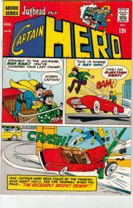 Jughead As Captain Hero #6 (Aug-67) VF/NM High-Grade Captain Hero