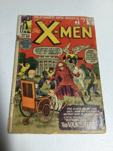 X-Men 2 Gd- Good- 1.8 Signed By Stan Lee Inner Page First Vanisher Silver Age